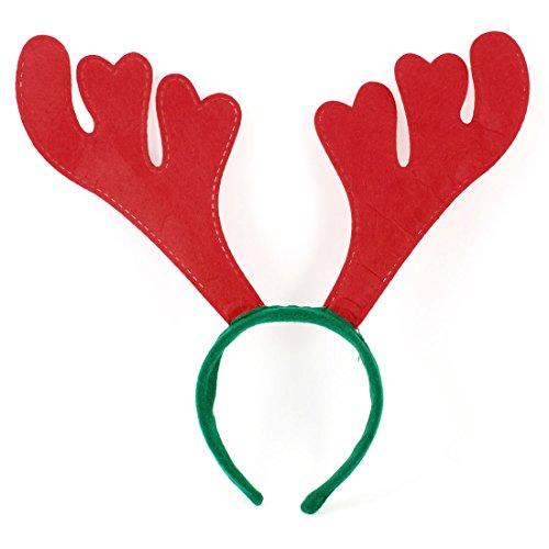 Deer Antler Decor, colore: rosso, verde e
