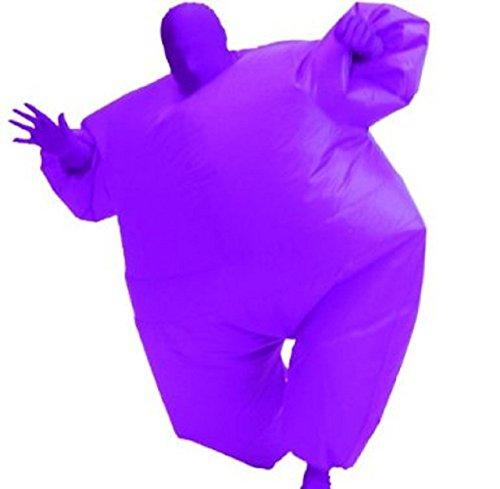 Inflatable Chub Suit Kostüm, Lila, One Size Fits Most (Kostüme Dress Fancy Hammer Mc)