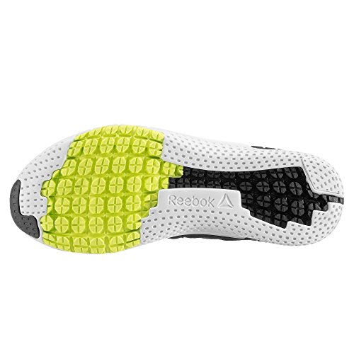 Reebok Zprint 3d We, Scarpe da Trail Running Uomo Nero (Black / Solar Yellow / White / Pewter)
