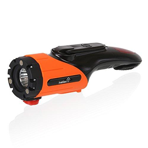 Ivation 5in 1Auto Notfall Taschenlampe & Escape Werkzeug Orange orange