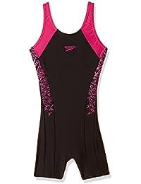 Speedo Girls Swimwear Boom Splice Legsuit