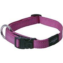 Rogz Collar perros, reflectante y extragrande de 2,54 cm