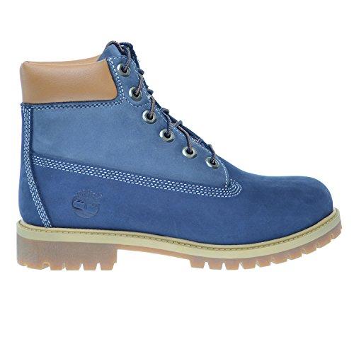 Timberland 6Inch Premium Big Kids Waterproof Boots Blue Light Blue tb0a14zd  4 5 M US