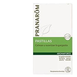 pastillas Aromaforce calmantes de garganta de Pranarôm