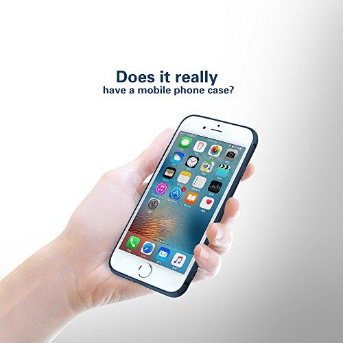 iPhone 7 Plus Hülle,Silikon Ultra Slim Matte Oberfläche für iphone 7 Plus(5,5 '')-- Blau Blau