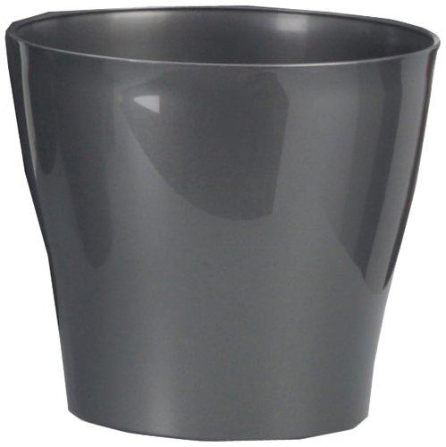 Scheurich  Übertopf Anthracite Pearl Ø 21 cm, Höhe 19 cm (Indoor-pflanzgefäße-keramik)
