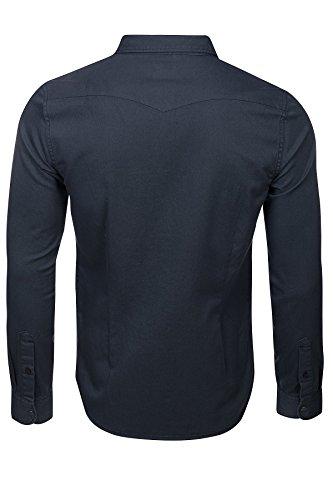 Lee Kent Slim Fit Shirt Herren Hemd Arbeitshemd Grau L644YZME Grau