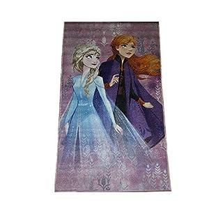 Bavaria Home Style Collection- kompatibel mit ELSA Kinder-Teppich für Mädchen I rutschfest I Anna und ELSA Teppich fürs…