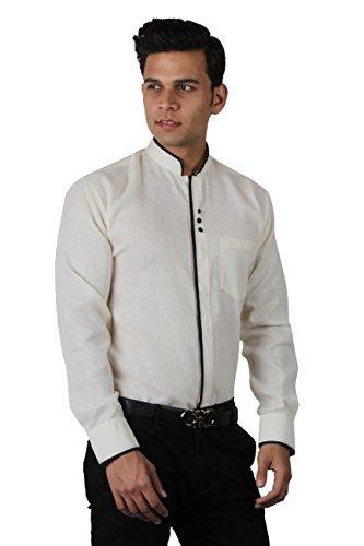 The-Standard-Mens-Party-Wear-Shirt-Designer-Print-Cream-SKU0079