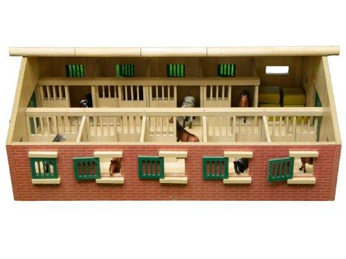 Kids Globe Farming Pferdestall 1:32 610544 -