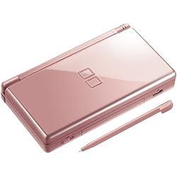 Rose métallique Nintendo DS Lite.
