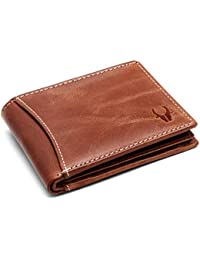 WILDHORN Brown Men's Wallet (WH1255 Crunch).