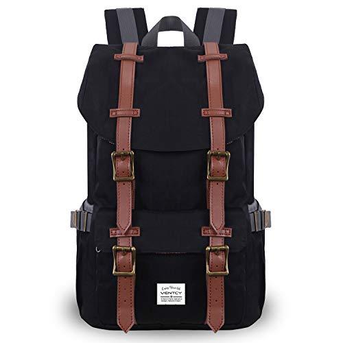 fea19193e5e0e VENTCY College Backpack Men Women 14 inch Laptop Backpack Casual Daypack  Bag High School Waterproof Rucksack