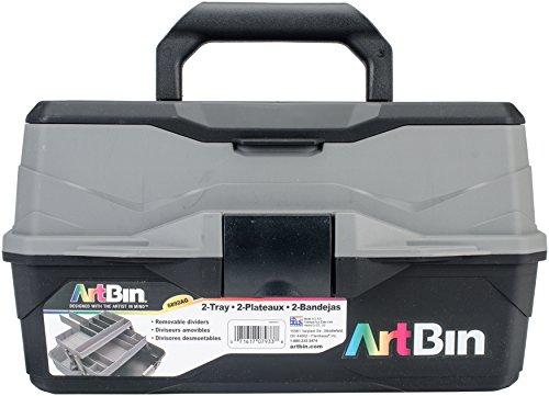 Unbekannt ArtBin Lift Box mit 2Schalen und schnellen Zugang Deckel Aufbewahrung, Mehrfarbig, 35.05X 19.81X 19,05cm