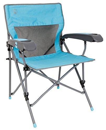Coleman Campingstuhl 'Ver-Tech Plus' Silla, Unisex, Azul, Talla única