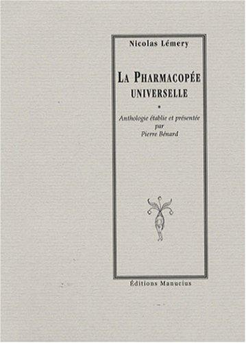 La Pharmacopée universelle