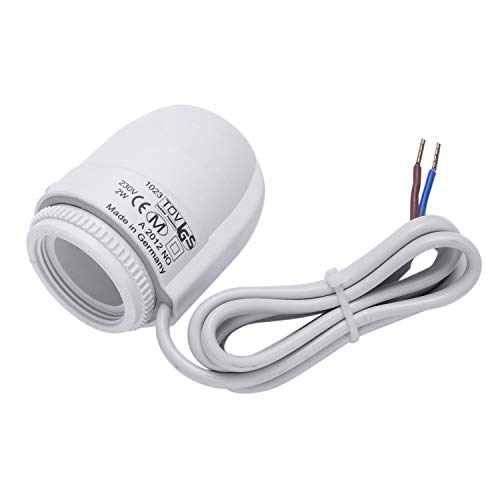 CUHAWUDBA Nc Ac 230V Elektrischer Thermischer Stell Antrieb Fu?boden Heizungs Ventil für Fu?boden Heizung Thermostat Thermostatisches Ventil -