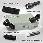 Cofanetto-torcia-militare-professionale-accessori-per-luce-bici-utensile-multifonzione-batterie-ricaricabili-caricatore-incluso