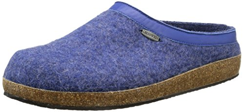 Giesswein - Chiemsee, Mocassini, unisex, Blu (527 jeans), 43