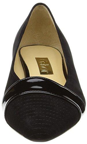Gabor Exact Damen Pumps Black (Black Suede/Patent HT)