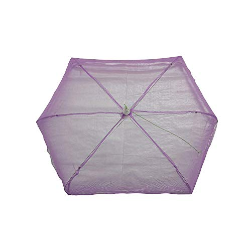 ome empex Baby Foldable Mosquito Net (Purple)