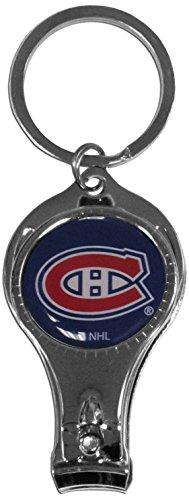 Siskiyou NHL Nagelpflege-Schlüsselanhänger, Unisex, Mehrfarbig - Nagel Clippers Schlüsselanhänger