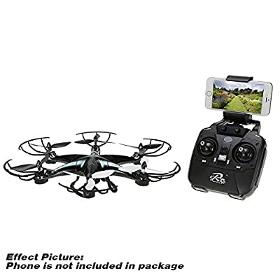 LiDiRC 2016 NEWEST L6E 200W HD camera real-time wifi transmission systems 2.4GHZ Built-in 6 axis gyroscope headless mode 360° 3D eversion three speeds 6CH remote control quadcopter from Lidirc
