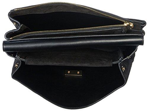 Coccinelle Handtasche Arlettis Suede 1201 Noir