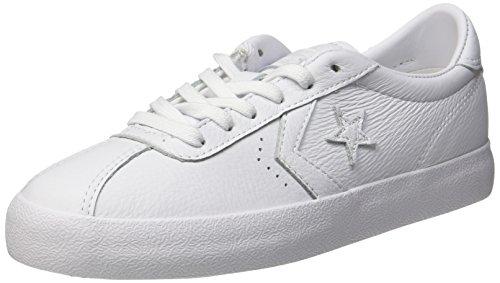 Converse Breakpoint Ox White/White/White, Sneaker Basse Unisex - Adulto Weiß (White/White/White)