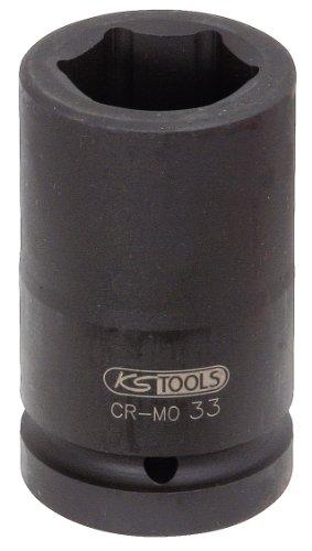 "KS Tools 515.1836 1"" Sechskant-Kraft-Stecknuss, lang, 36mm"