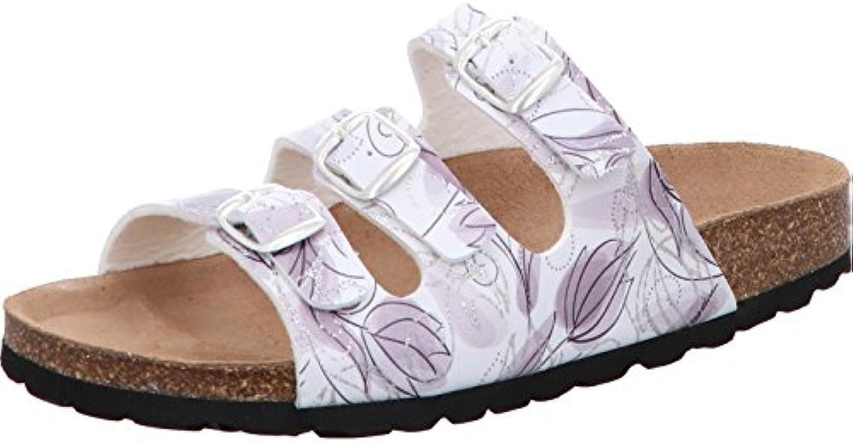 Gemini Damen Bio Pantolette 8317-88/102 Weiss/Silber 2018 Letztes Modell  Mode Schuhe Billig Online-Verkauf