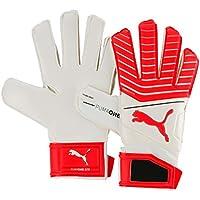 a5e10332cc01 Puma One Grip 17.3 RC Goalkeeper Gloves WHITE-RED-BLACK WHITE-RED Blast