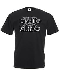 Vitamin T Top Gun T-Shirt Missile tee shirt movie Tom Cruise clothing gift for him