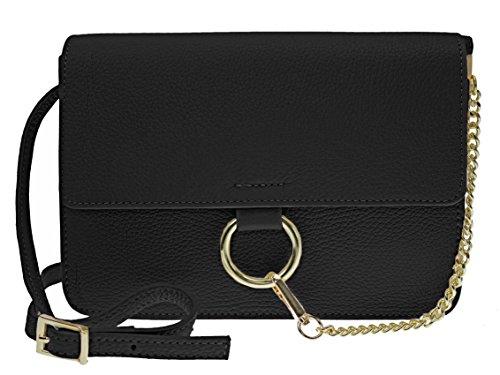 bag2basics-sac-bandouliere-pour-femme-beige-beige-taille-unique-noir-noir-taille-unique