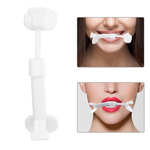 Smile Übungsstücke für Facial Flex, Gesichtsmuskel Fitness Übung, Lächeln Korrektor Facelift Lippenform Schönheit Werkzeuge Facelift Werkzeuge 5 Stck -