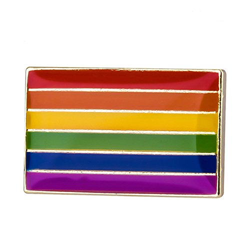 Flaggen-Anstecknadel / Accessoire (USA, UK, europäische Union EU, Frankreich, Japan, China, Deutschland, Italien, Kanada, Schweiz, Nordkorea, UdSSR, Israel, Russland, Irland), ideal als Geschenk LGBT Pride