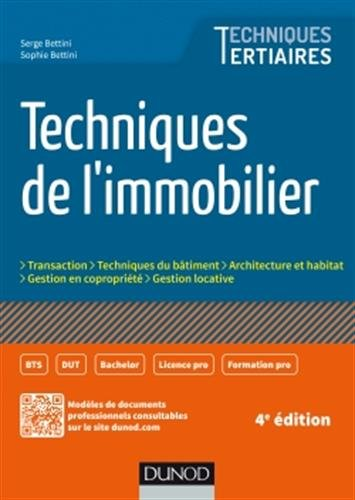 Techniques de l'immobilier - 4e éd.