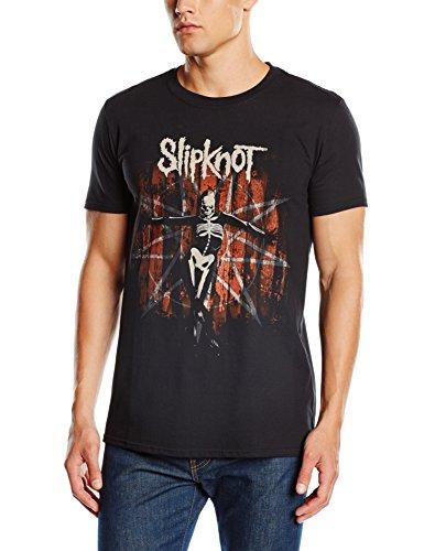 Slipknot Herren T-Shirt The Gray Chapter Star Schwarz
