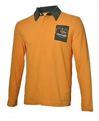 Olorun - Camiseta de Rugby del Equipo de Australia Estilo Vintage Clásico Auténtico - Tallas Ch-4XG - 3x Grande