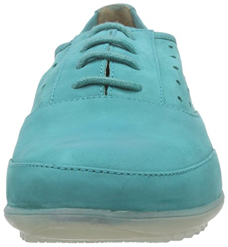 Marc Shoes Helen Damen Derby Türkis (lagoon 592)