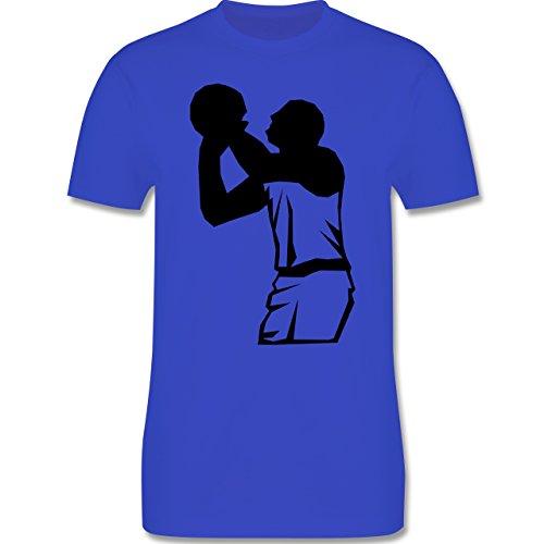 Basketball - Basketball - Herren Premium T-Shirt Royalblau
