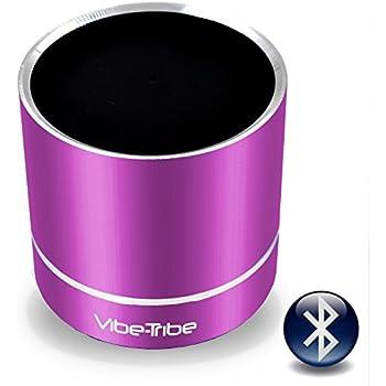 Vibe-Tribe Troll Plus - Orchid Purple: 12 Watt Bluetooth Vibration Speaker, vivavoce, suction base integrata