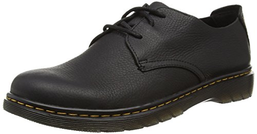 Dr. Martens Bexley Grizzly Black, Derby homme