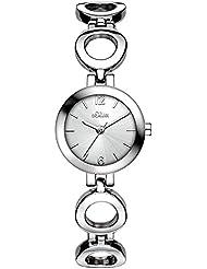 s.Oliver Damen-Armbanduhr Analog Quarz SO-3013-MQ