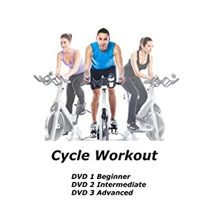 Cycle Workout DVD [3 DVD set] – [Region 0 Worldwide]