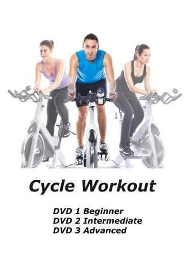Cycle Workout DVD [3 DVD set] - [Region 0 Worldwide] Spinning-dvd-set