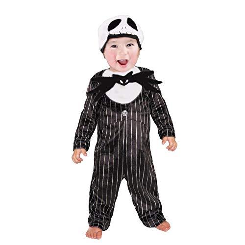 Disfraz de Esqueleto Jack Bebé Infantil Halloween (5-6 años) (+ Tallas)