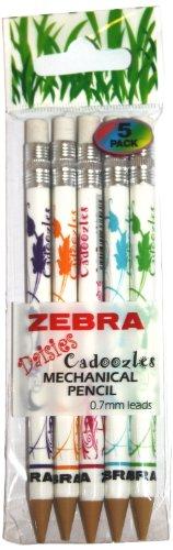 Zebra Cadoozles Daisies 2322Druckbleistifte, Strichbreite 0,7mm Bleistifte -