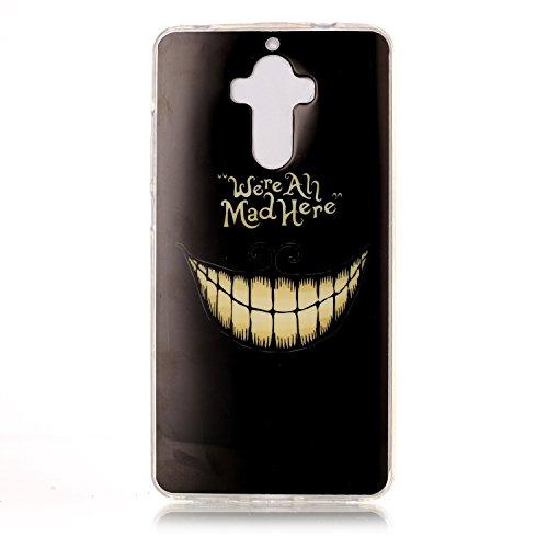 Qiaogle Telefon Case - Weiche TPU Case Silikon Schutzhülle Cover für Apple iPhone 7 Plus (5.5 Zoll) - YH54 / We're all Mad Here YH54 / We're all Mad Here