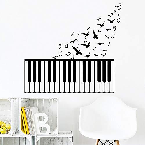 vier Wandaufkleber für Kinder mädchen Schlafzimmer Dekor Abnehmbare Raumdekoration Wandkunst Aufkleber Vinyl wallstickers 43 * 43 cm ()